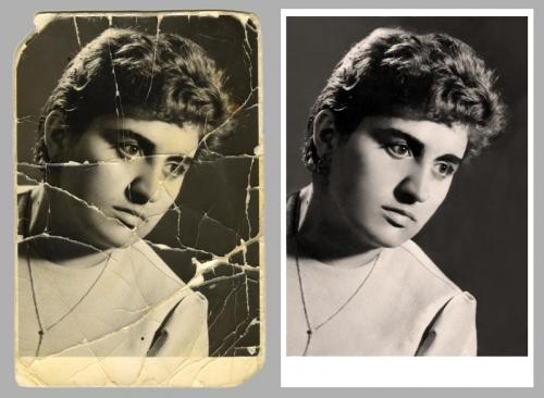 Наш профиль — реставрация старых фотографий